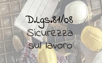 Formazione obbligatoria D.Lgs.81/08